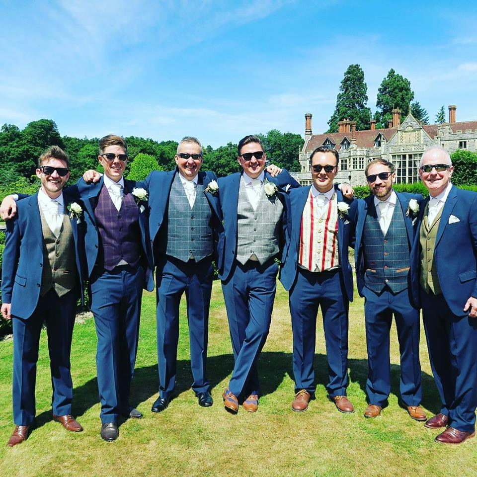 Enchanting Groomsmen Wedding Suits Frieze - All Wedding Dresses ...