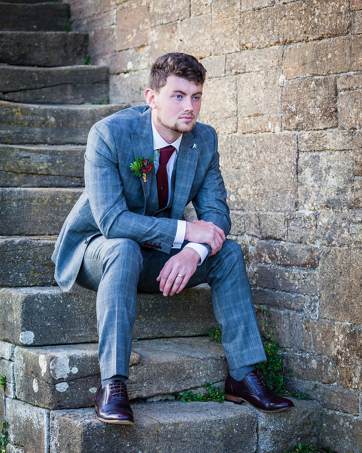Customers showcasing Astares menswear wedding suits | Astares
