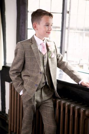 Childs Tweed Suit