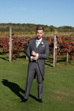 Grey Tailcoat Suit