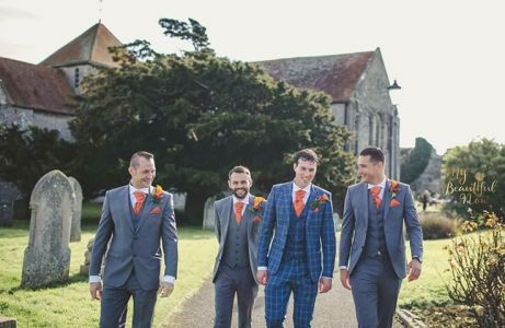 Grey Hire 3 Pc With Heribie Purchase Suit