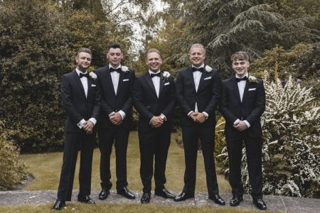 Jamie And His Groomsmen - Photo Kris Karl Weddings