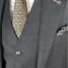 Herbie Frogg 3pc Grey wool Suit`