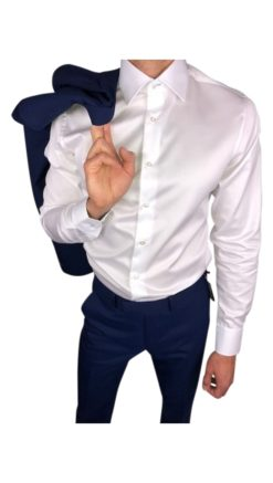 Herbie Frogg Tailored Fit White Shirt