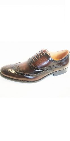 Caramel Brogue Shoe