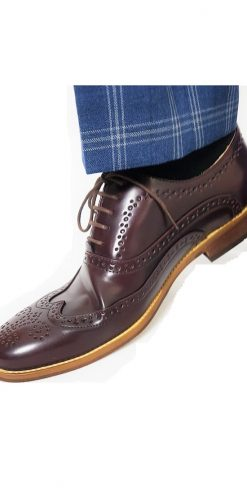 Oxblood Brogue Shoes