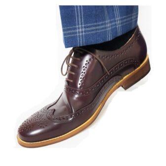 Oxblood Brogue Shoes