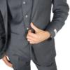 Herbie Frogg 3pc Grey wool Suit