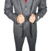 Herbie Frogg 3pc Grey Wool Suit