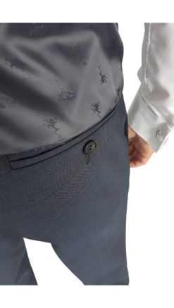 Herbie Frogg Mix & Match Charcoal Trouser