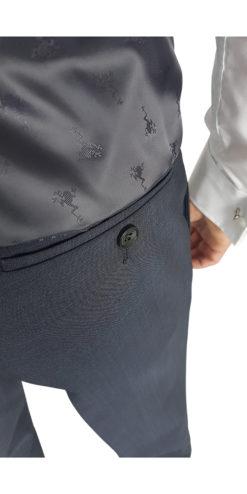 Herbie Frogg Mix & Match Charcoal Trouser
