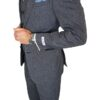 Herbie Frogg 3pc Grey Contrast Suit