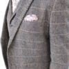 Cavani Albert Tan Tweed Effect Suit