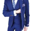 Herbie Frogg Slim Fit Jacket Blue