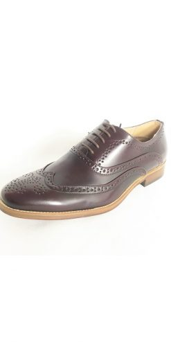 Oxblood Brogue Shoe