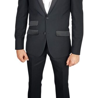 Whites DJ 2pc Suit Black