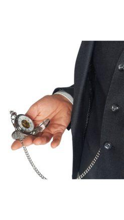 Double Open Pocket Watch