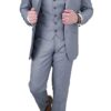 Cavani Reegan Grey 3pc Suit