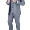Cavani Reegan Grey 3pc Suit