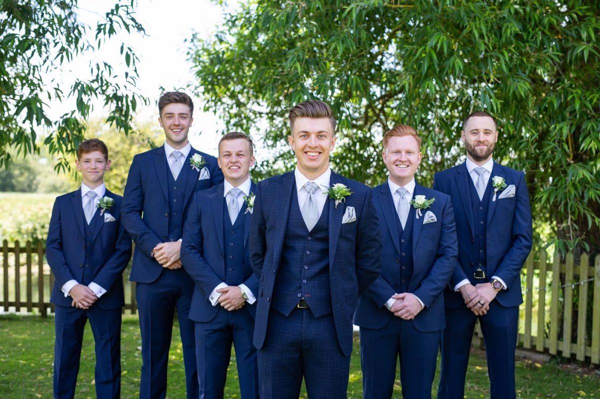 Josh and his groomsmen