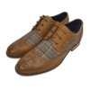 Oslo Cavani Tan Brogue Shoes