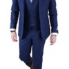Blue Donegal wool 3 pc suit
