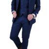 Blue Donegal wool 3 pc suit