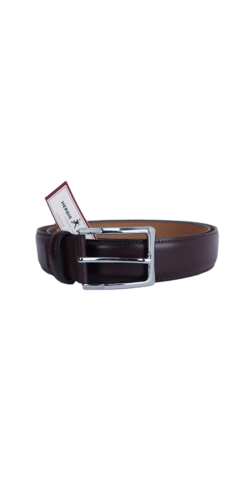 Herbie Frogg Brown Leather Belt