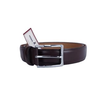 Herbie Frogg Brown Leather Belt