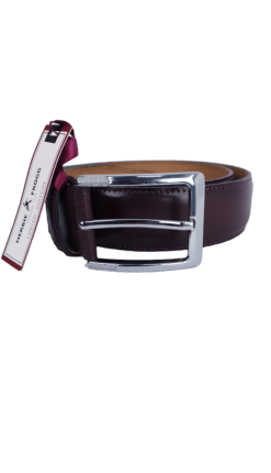 Herbie Frogg Oxblood Leather Belt