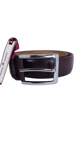 Herbie Frogg Oxblood Leather Belt