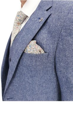 Light Blue wool suit