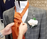 Step Eight - How to Tie a Cravat