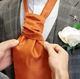 Step Nine - How To Tie A Cravat