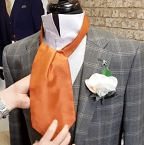 Step Six - How To Tie A Cravat
