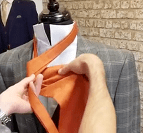 Step Three - How To Tie A Cravat