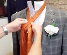 Step Two - How To Tie A Cravat