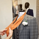 Step One - How To Tie A Cravat