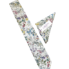 Liberty Wild Flowers Ivory Tie and Hankie