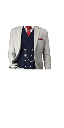 Cavani Lennox Navy Waistcoat