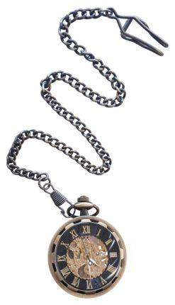 Steampunk Bronze Pocket Watch
