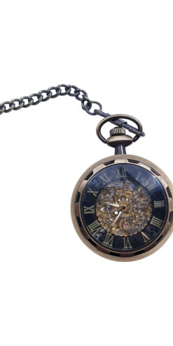Steampunk Bronze Pocket Watch