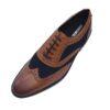 Roamer Tan And Blue Shoe