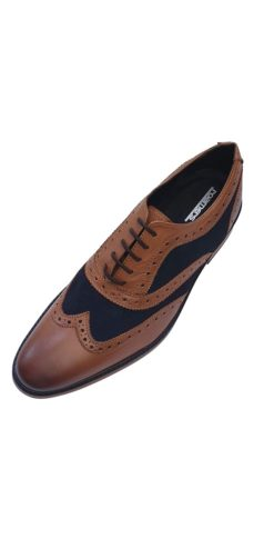 Roamer Tan And Blue Shoe