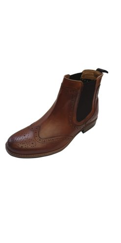 Roamer Tan Brogue Boot