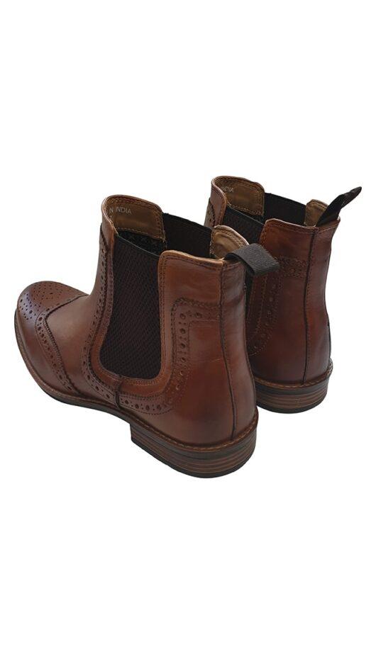 Roamer Tan Brogue Boot