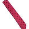 Red and Blue Spot Tie