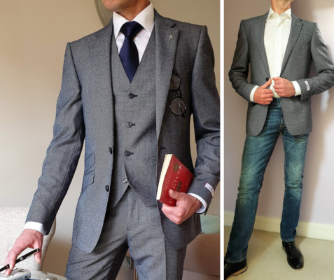 Are three piece suits in fashion?