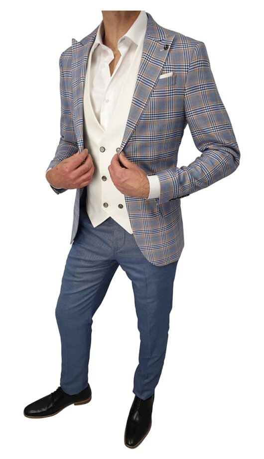 The Milan 3 Piece Suit
