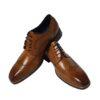 Azor Tan Brogue Shoe